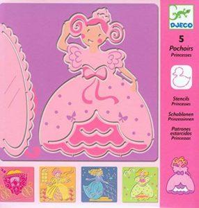 Djeco – Pochoirs - Princesses de la marque Djeco image 0 produit