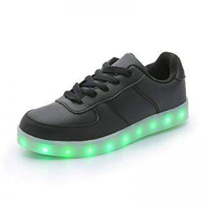 DoGeek Chaussure Baskets Lumineuse Homme Femme -7 Couleurs LED Lumière Chaussures Unisex Baskets mode- USB Rechargeable - Pour Adult de la marque DoGeek image 0 produit