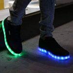 DoGeek Chaussure Baskets Lumineuse Homme Femme -7 Couleurs LED Lumière Chaussures Unisex Baskets mode- USB Rechargeable - Pour Adult de la marque DoGeek image 3 produit