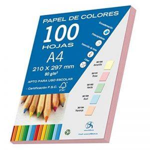 Dohe 30191 Lot de 100feuilles de papier Format A4 Rose pastel 80g de la marque DOHE image 0 produit