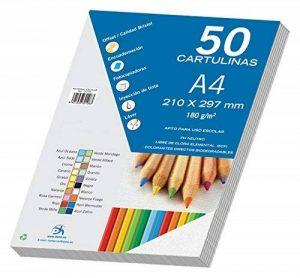 Dohe–Pack de 50feuilles de bristol, A4 de la marque DOHE image 0 produit