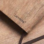 Dotted Bullet Journal/Carnet Pointillé - Lemome Écologique - Reliure en Grès Naturel - Reliure à Grille avec Boucle à Stylo - Papier Epais Premium (125g/m²) - Cahier Relié A5 (5x8In) de la marque Lemome image 2 produit
