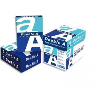 Double A Lot de 5 Ramettes de papier 500 feuilles A3 80 g Extra Blanc de la marque Double A image 0 produit