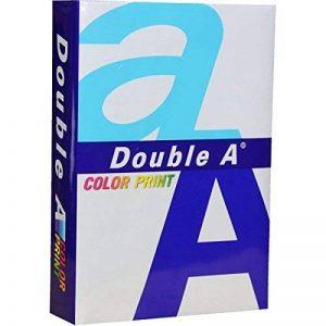 Double A Lot de 5 Ramettes de papier 500 feuilles A4 90 g Extra Blanc de la marque Double A image 0 produit