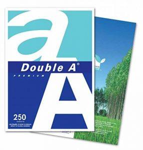 Double A Ramette de 250 feuilles de papier machine Blanc de la marque Double A image 0 produit