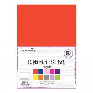 Dovecraft Pack Papiers Couleurs 180gsm de la marque Dovecraft image 0 produit