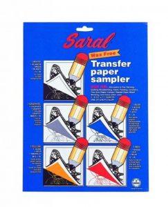 Dritz mercerie Drisrl10Saral assorties papier calque, 20,3x 25,4cm 5 de la marque Dritz image 0 produit