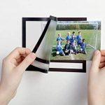 Durable 496401 Fotoframe Plus Cadre Photo Adhésif au Format Paysage avec Légende Noir 10 x 15 cm de la marque Durable image 4 produit