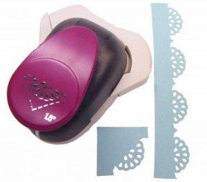 Efco Perforatrice d'angle Napperon en dentelle, Rose, Grand, 38mm/25x 25x 25mm de la marque Efco image 0 produit