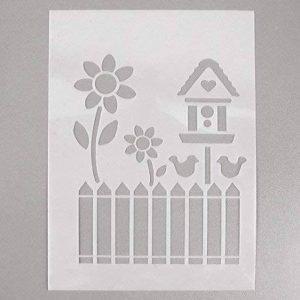 Efco Pochoir Jardin en 4Designs, Plastique, Transparent, A5 de la marque Efco image 0 produit