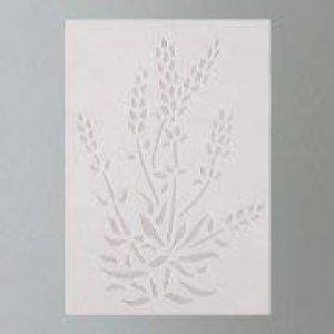Efco Pochoir Lavande 1design, Plastique, Transparent, A5 de la marque Efco image 0 produit