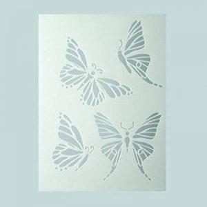 Efco Pochoir Papillons/4designs DIN A 5, en plastique, transparent de la marque Efco image 0 produit