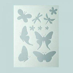 Efco Pochoir Papillons dans 11Designs, en plastique, transparent, A5 de la marque Efco image 0 produit