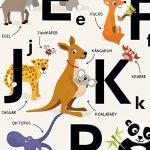 Empire Poster alphabet ABC Lettres Affiche Chambre d'enfant de la marque viilou image 1 produit