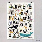 Empire Poster alphabet ABC Lettres Affiche Chambre d'enfant de la marque viilou image 4 produit