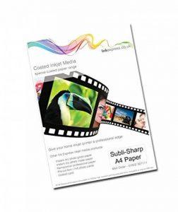 Encre Express Subli-sharp 120g/m² Lot de papier Sublimation Multi Feuilles a4 de la marque Ink Express image 0 produit