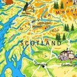 Enfant Illustré Poster Carte du Royaume-Uni–Papier laminé A1 de la marque Tiger image 3 produit