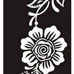 Ensemble de 10feuilles de pochoirs designs henné à usage unique pour le corps. Convient également aux tatouages pailletés ou à l'aérographe de la marque Beyond Paradise image 6 produit
