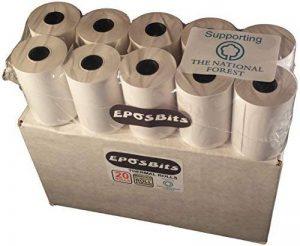 eposbits® Marque (20rouleaux) pour INGENICO ICT 200ICT 220ICT 250EFT 930S EFT 930B EFT 930G I 51005100 de la marque EPOSBITS image 0 produit