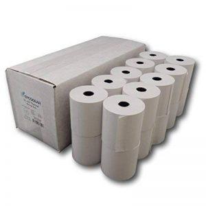 Eposgear Lot de 20rouleaux de papier thermique pour caisse enregistreuse 57x 57mm de la marque EPOSGEAR image 0 produit