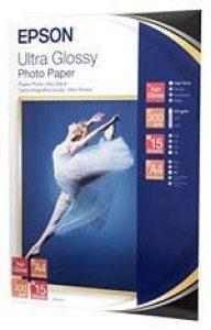 Epson A4 Ultra Glossy Photo Paper, C13S041927 de la marque Epson image 0 produit