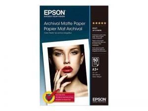 Epson Archival (C13S041340) - papier mat - Super B (330 x 483 mm) - 192 g/m2-50 feuilles de la marque Epson image 0 produit