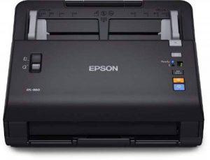 Epson B11B222401BT WorkForce DS-860N Scanner de documents ((600 dpi, USB 2.0) de la marque Epson image 0 produit