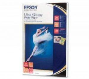 Epson - C13S041926BH - Supports d'impression Jet d'Encre - Papier Photo Ultra Glacé 10x15 (20 f.) - 300g de la marque Epson image 0 produit