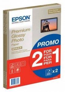 Epson C13S042169 - Pack de 2 - Papier Photo Premium Glacé - A4-2x15 Feuilles de la marque Epson image 0 produit