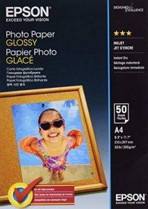 Epson C13S042539 Lot de 50 Feuilles de papier photo A4 Brillant de la marque Epson image 0 produit