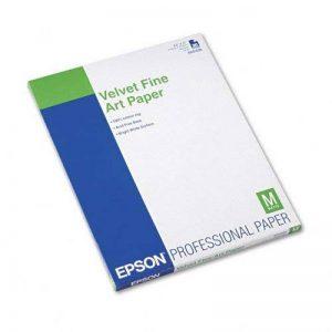 Epson Fine Art Velvet Papier Velouté de la marque Epson image 0 produit