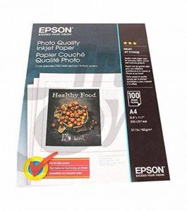 Epson Ink Jet Papier papier photo blanc A4 (210 x 297 mm) 102 g/m2 100 pc. de la marque Epson image 0 produit