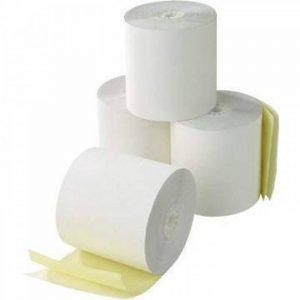 Epson-M-166 ****Papier 2 plis Lot de 20 rouleaux de carton), 2 plis autocopiants Rouleaux 2 Plis imprimantes de cuisine de la marque Discount Till Rolls image 0 produit