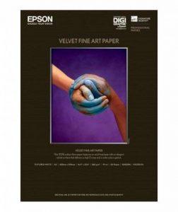 Epson Papier Fine Art Velvet A2 420 X 594 Mm - 25 Feuilles de la marque Epson image 0 produit