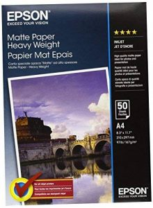 Epson Papier Mat Épais A4 - 50 Feuilles de la marque Epson image 0 produit