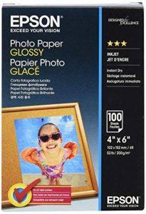 Epson Photo papier 10 x 15 cm 100 feuilles 200 g/m² Brillant de la marque Epson image 0 produit