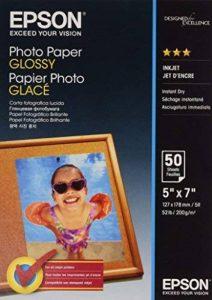 Epson Photo papier 13 x 18 cm 50 feuilles 200 g/m² Brillant de la marque Epson image 0 produit
