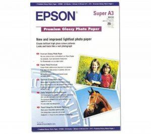 Epson Premium C13S041316 - Papier Photo Brillant - A3+ de la marque Epson image 0 produit