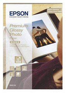 Epson Premium Glossy Photo Paper - Papier Photo Brillant 100 X 150 Mm - 40 Feuilles de la marque Epson image 0 produit