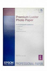 Epson Premium Luster Photo Paper Papier photo lustré A2 (420 x 594 mm) 25 feuille(s) de la marque Epson image 0 produit