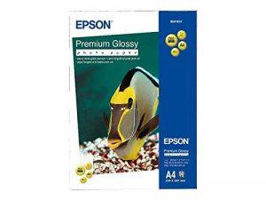 EPSON Premium papier brillant jet d'encre 225g/m2 A4 50 feuilles 1 paquet de la marque Epson image 0 produit