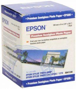 Epson Premium Semigloss Photo Paper Papier Semi-brillant de la marque Epson image 0 produit