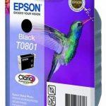 Epson T0801 - Cartouche d'encre d'origine - Noir de la marque Epson image 1 produit