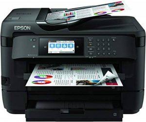 Epson WorkForce WF-7720DTWF 4800 x 2400DPI Jet d'encre A3 32ppm Wifi - Multifonctions (Jet d'encre, Impression couleur, 4800 x 2400 DPI, A3, Impression directe, Noir) de la marque Epson image 0 produit