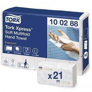 Essuie-mains Multifold Universal pliés en Z Universal compatible avec le système Tork H2 Multifolg de la marque Tork image 0 produit