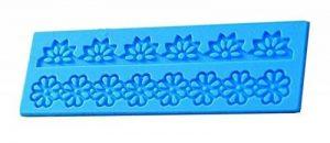 EVRYLON ➣ Moule en Silicone pour l'usage Alimentaire avec la Forme de la Dentelle - Fleurs grecques de la marque EVRYLON image 0 produit