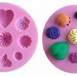 EVRYLON ➣ Moule en Silicone à Usage Artisanal avec la Forme de Bonbons Sucrés Même en Forme de Coeur de la marque EVRYLON image 2 produit