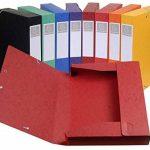Exacompta 19500H Lot de 10 Boites des Classements Coloris Assortis de la marque Exacompta image 1 produit