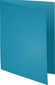 Exacompta 210019E Paquet de 100 Chemises Rock''s en Papier 210g - Bleu de la marque Exacompta image 0 produit