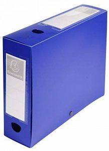 Exacompta 59832E Boite de classement a pression dos 80mm polypropylene 7/10e opaque de la marque Exacompta image 0 produit